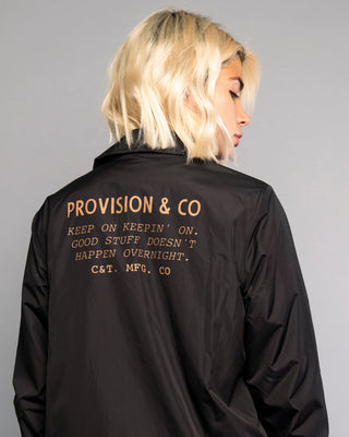 Keepin' On Womens Black Coach Jacket