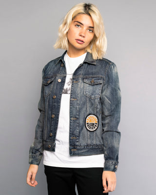 PROVISION TIGER DENIM JACKET