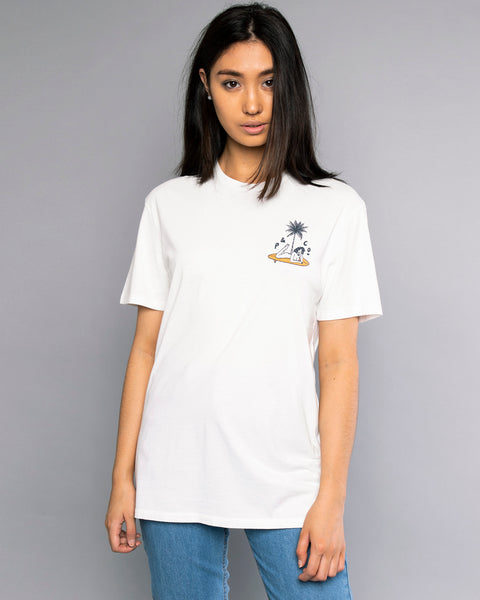The Good Life Womens White Tshirt