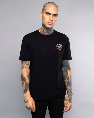 Last Call Mens Black T-Shirt