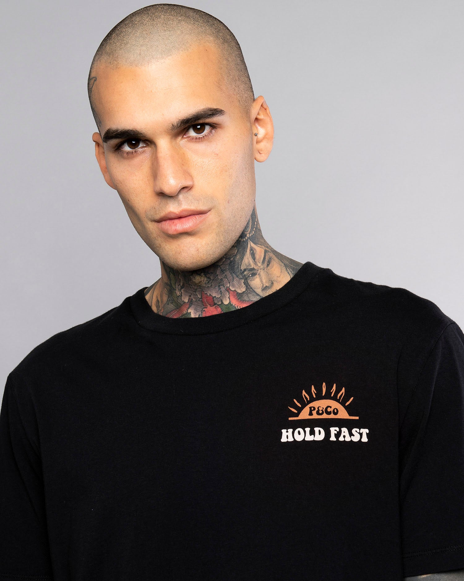 Got Time To Kill Mens Black Printed T-Shirt