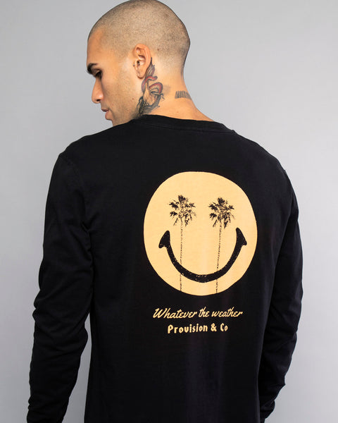 Mens Whatever The Weather Long Sleeve Tee