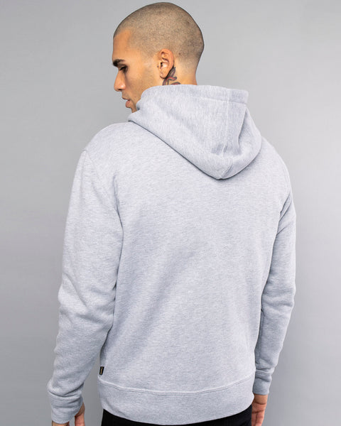 Mens Mechanic Grey Zip Up Hoodie