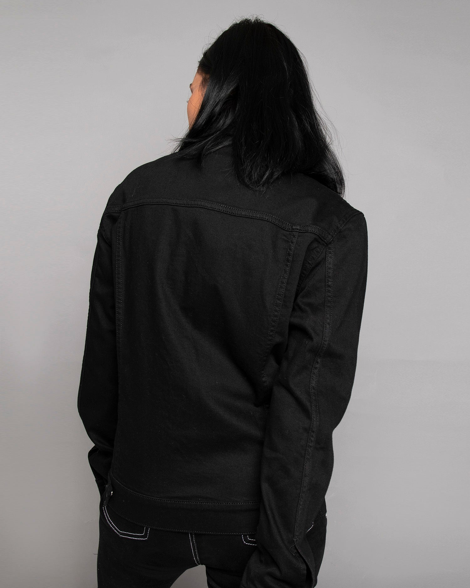 Origin Black Denim Jacket for Women