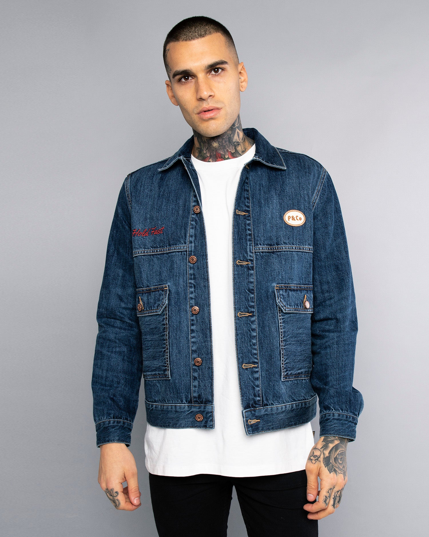 Type II Mens Denim Selvedge Jacket