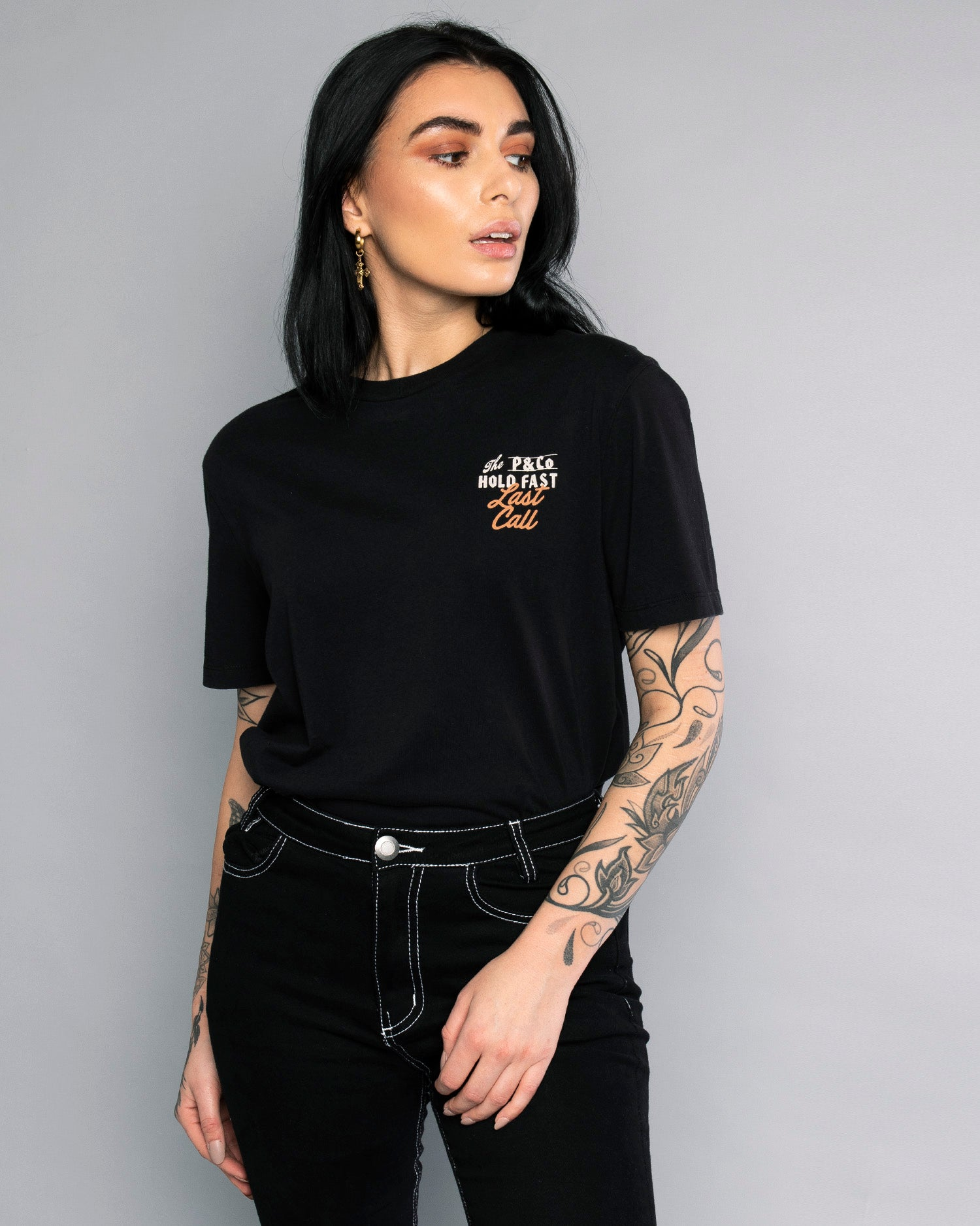 Last Call Womens Graphical Tee