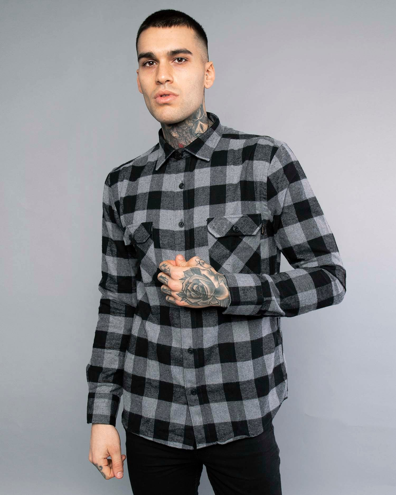 Mens Lumberjack Flannel Shirt