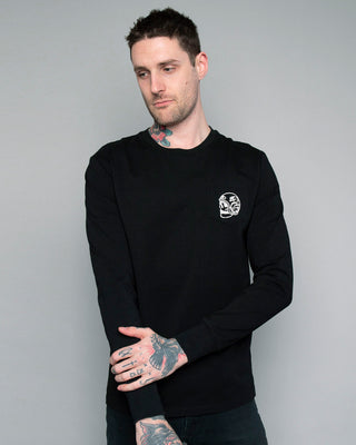 One for the Road Longsleeve black T-Shirt for men