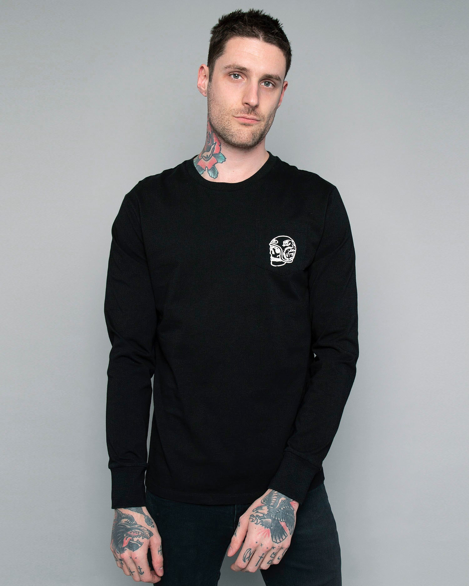 One for the Road Longsleeve black tee