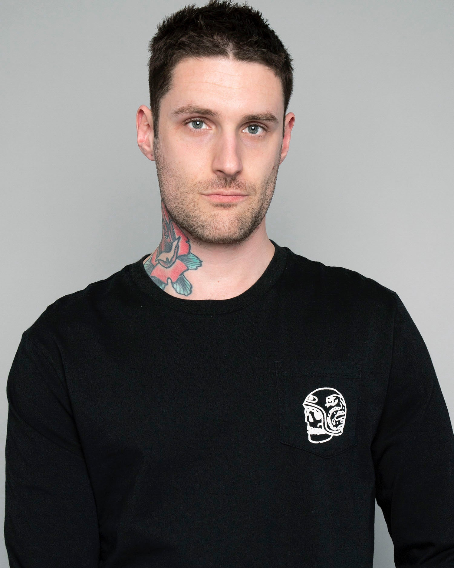 P&Co one for the road black longsleeve