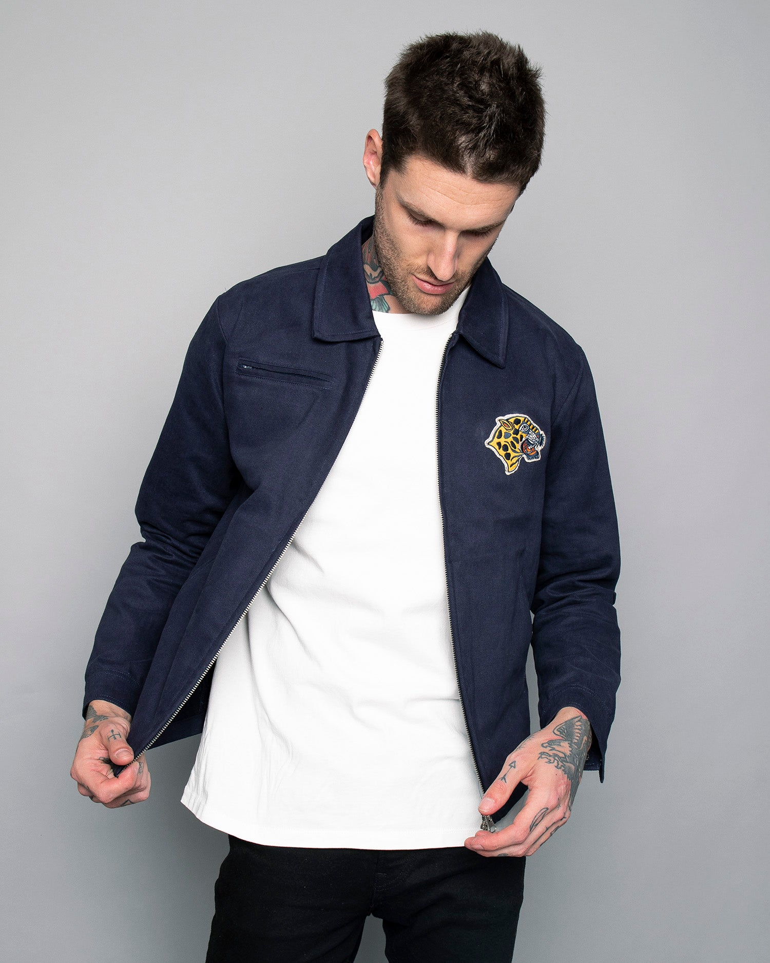 Cheetah Mechanic Jacket