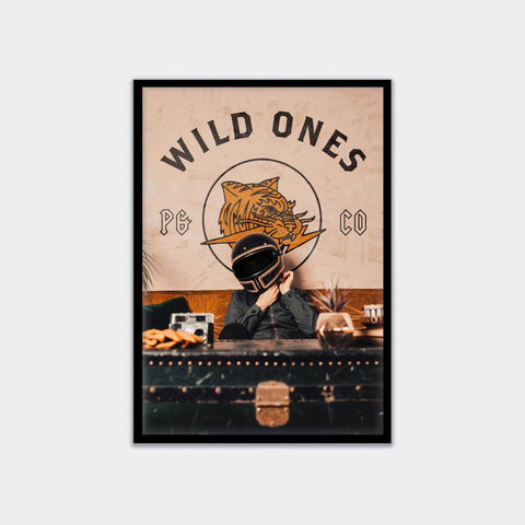 Wild Ones A3 Artwork Print