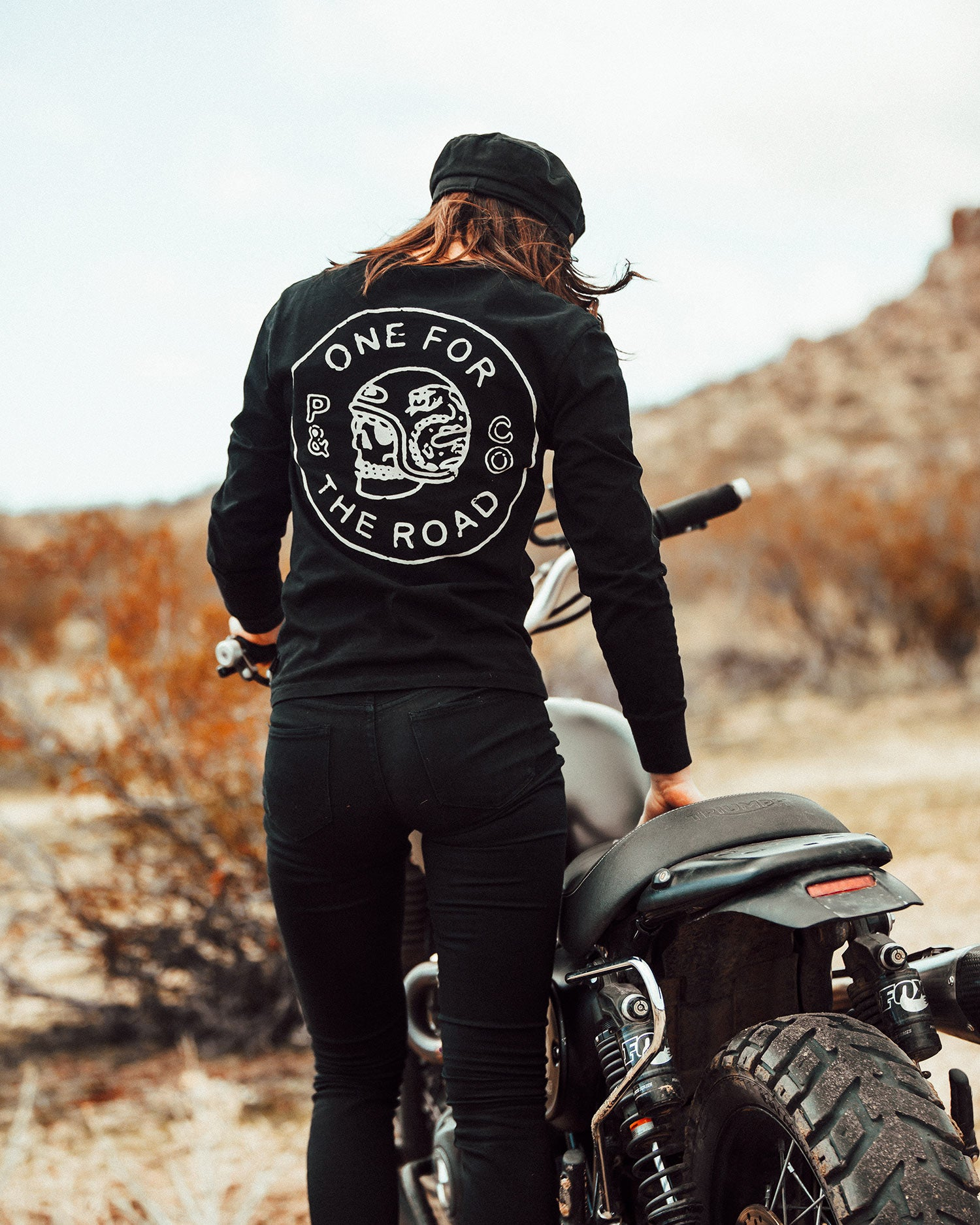 womens one for the road Longsleeve