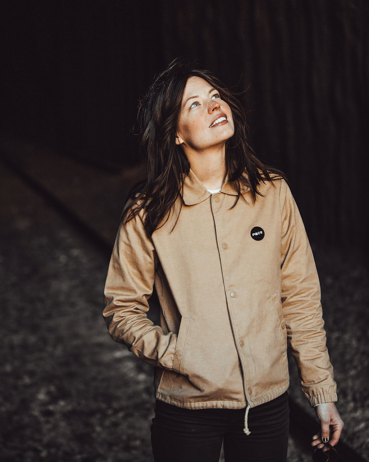 P&Co Womens Stone Coach Jacket