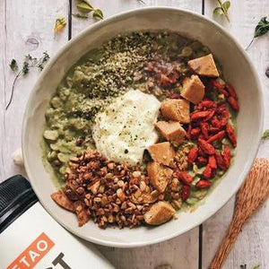 Healthy Matcha Oats