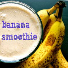 delicious banana smoothie