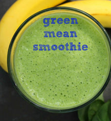 green mean smoothie