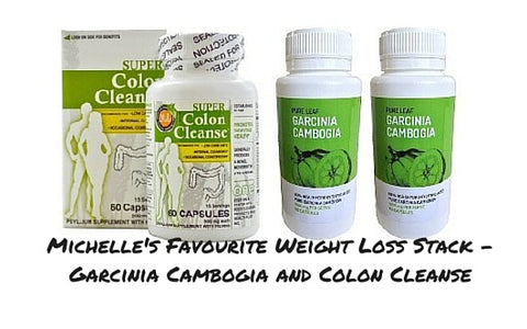 Michelle's stack Garcinia and Colon Cleanse