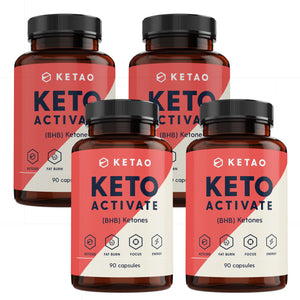 Keto Activate 90 - Exogenous Ketones, The Original with goBHB