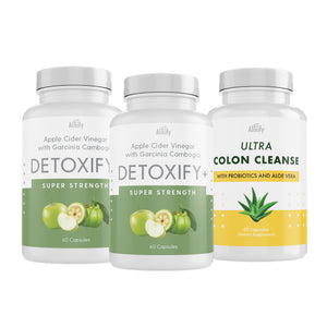 Garcinia Cambogia & Apple Cider Vinegar with Colon Cleanse