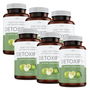 Detoxify - Garcinia Cambogia with Apple Cider Vinegar