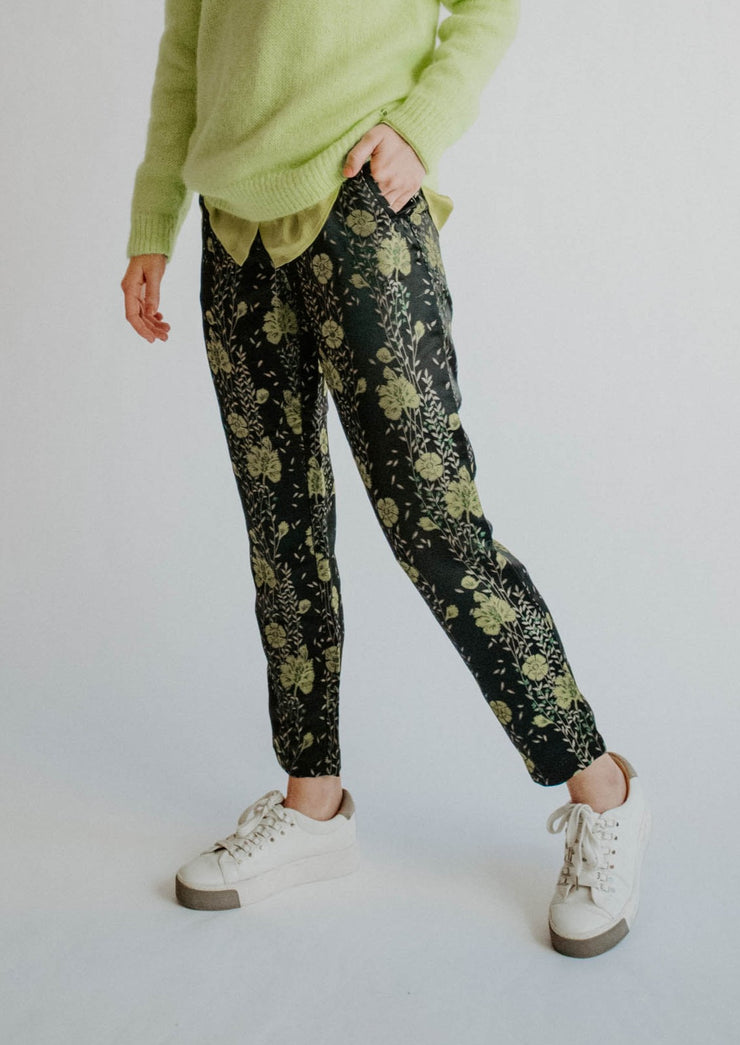 Scotch and Soda Floral Tailored Pants