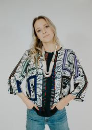 Ottod'Ame Printed Blouse