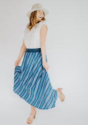 Summum Striped Skirt