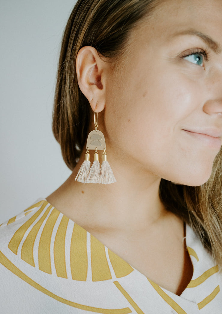 David Aubrey tassel earrings