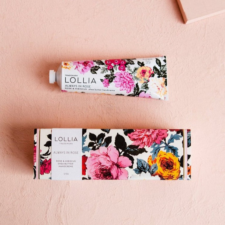 Lollia always in rose handcreme