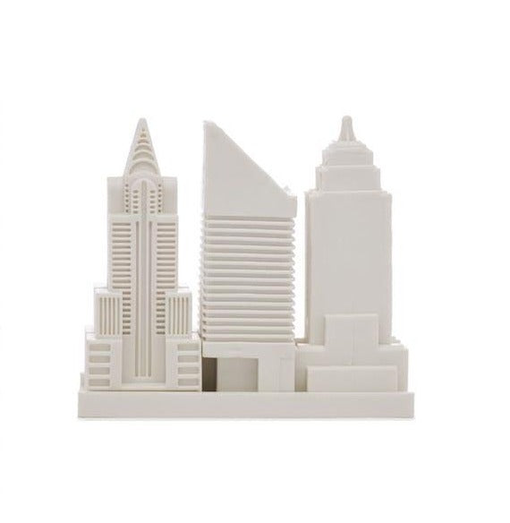 City eraser set