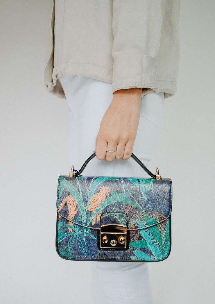 Navy jungle bag two
