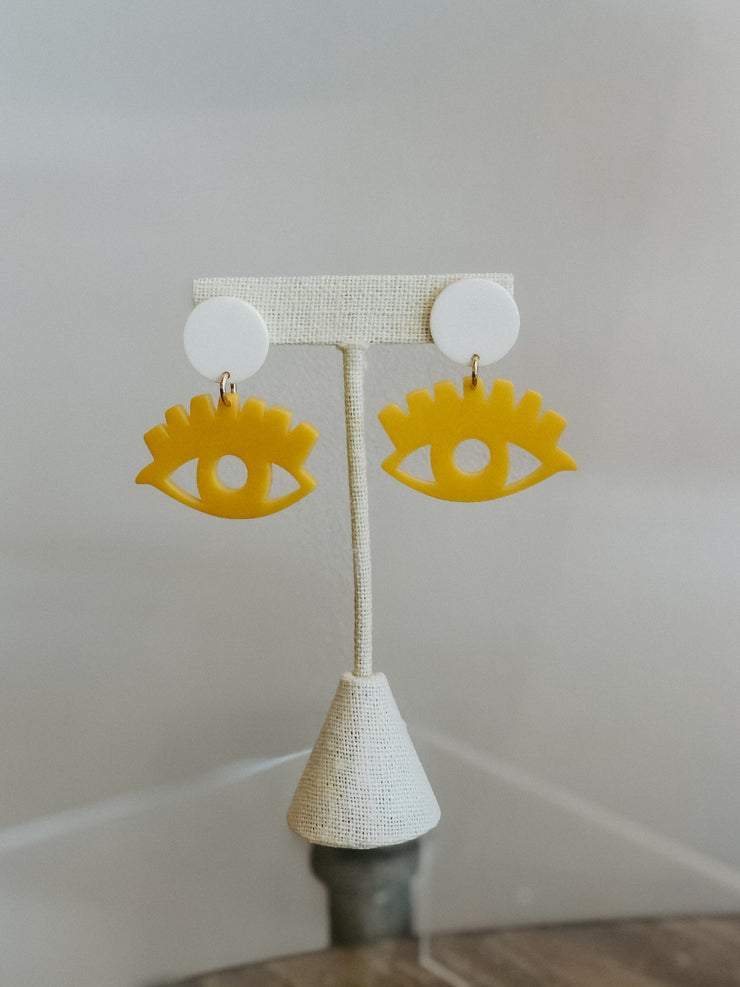 GS Eye Earrings
