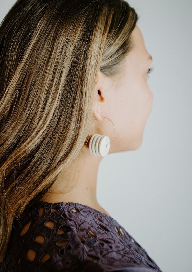 David Aubrey Shell Earrings