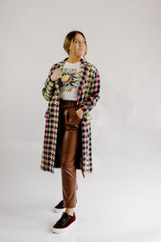 Ottodame Plaid Coat