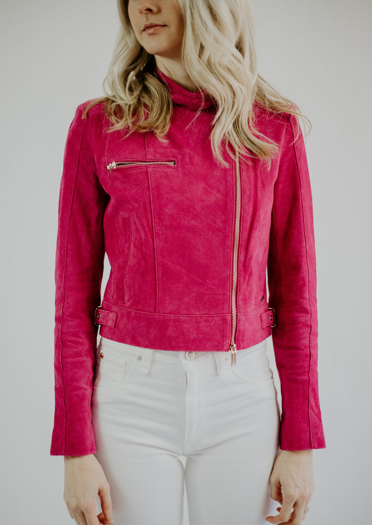 Rino & Pelle Hot Pink Jacket