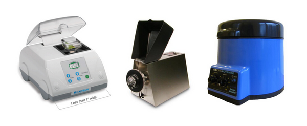 Bead mill homogenizer examples.