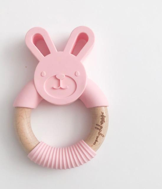 Pretty Please Boutique Teethers - Cotton Candy Bunny Teether