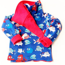 DribbleBabies Reversible Jacket (Piranha)