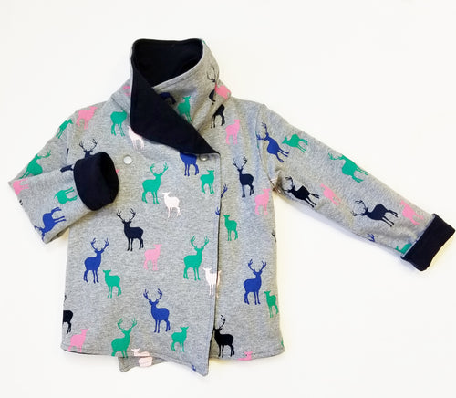 Reversible Jacket (Stag Print)