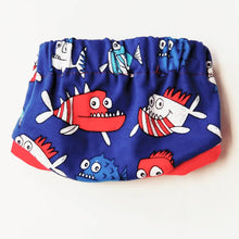 Bum Shorts (Piranha) - Dribblebabies