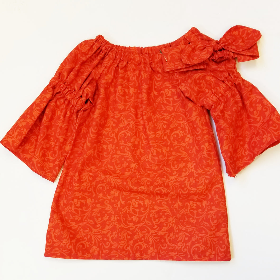 DribbleBabies Tunic Dress (Red) - Dribblebabies