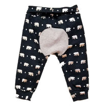DribbleBabies children's clothing - Polar Bear Jogger Set. Boys, girls, tops, pants.