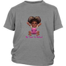 "DribbleBabies Afro Girl T-Shirt - ""No Time to Relax."" - Dribblebabies"