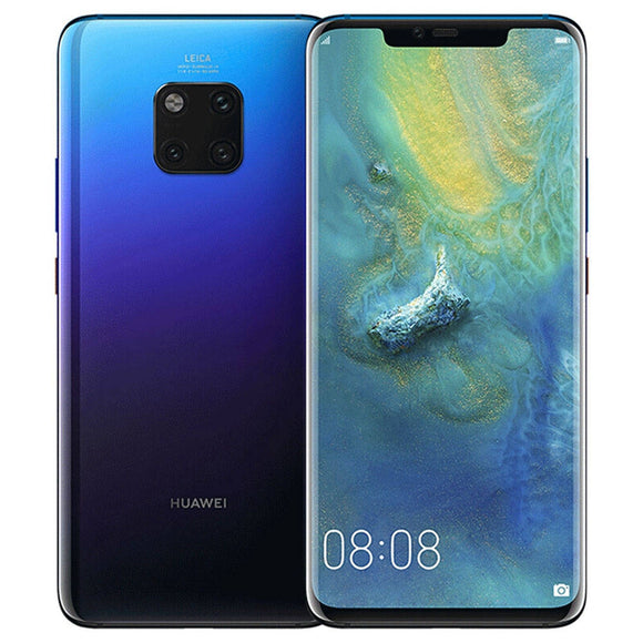 Huawei Mate 20 Pro LYA-L29 8GB 256GB Android 9.0 Dual Sim Unlocked Twilight
