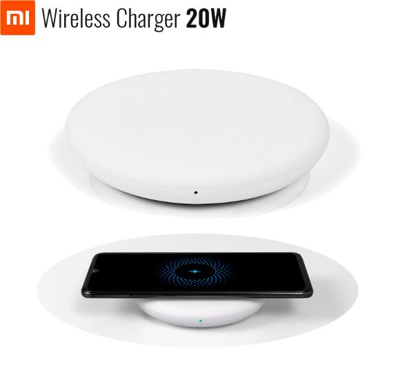Xiaomi Wireless Quick Charger 20W For Xiaomi Mi 9 (20W) MIX 2S / 3 (10W) Iphone Xs / Xs Max Samsung