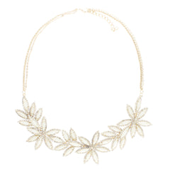 IVORY FLORAL NECKLACE