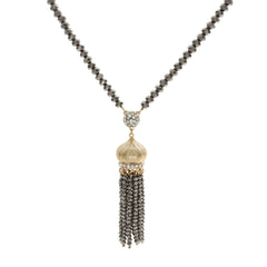 JULIA TASSEL LONG NECKLACE