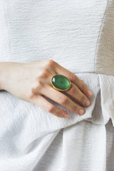 JADE GODDESS RING
