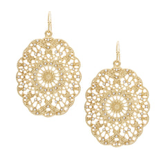 Kymberly Gold Earrings
